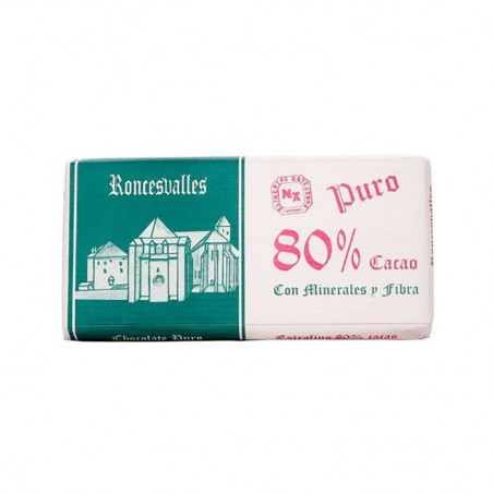 Roncesvalles 80% Pure Chocolate Bar 125g