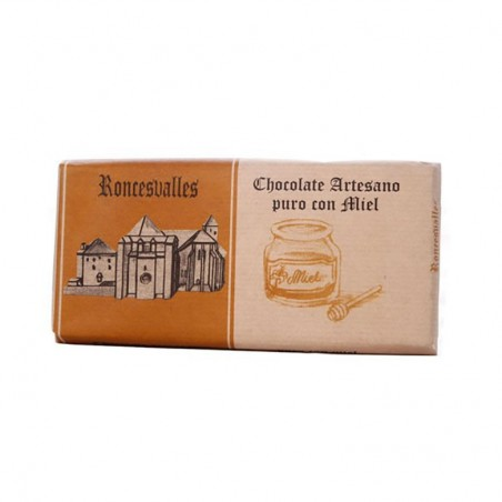 Roncesvalles Chocolate with Honey bar 125g