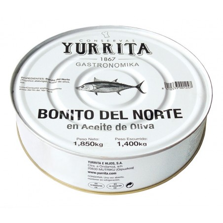 Steaks of Bonito del Norte in Olive Oil 1850g