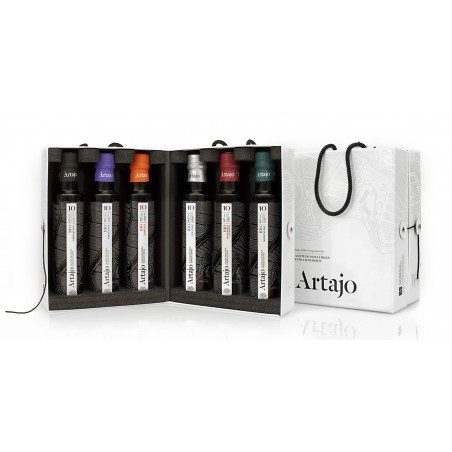 Artajo10 250ml 6 varieties bottles suitcase