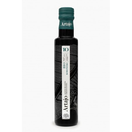 Artajo10 Koroneiki Organic 250ml bottle