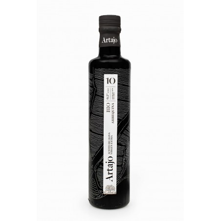 Artajo10 Arbequina Organic 250ml bottle