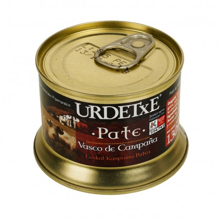 Pork pâté with Ezpeleta pepper 130g